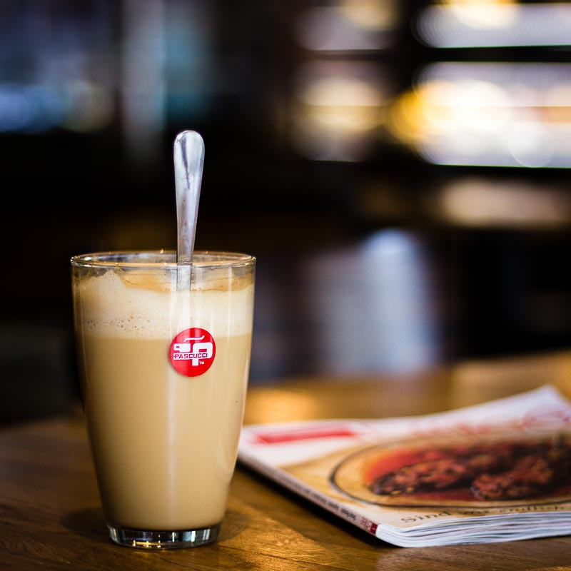 Galao Milchkaffee - Cafe Estoril