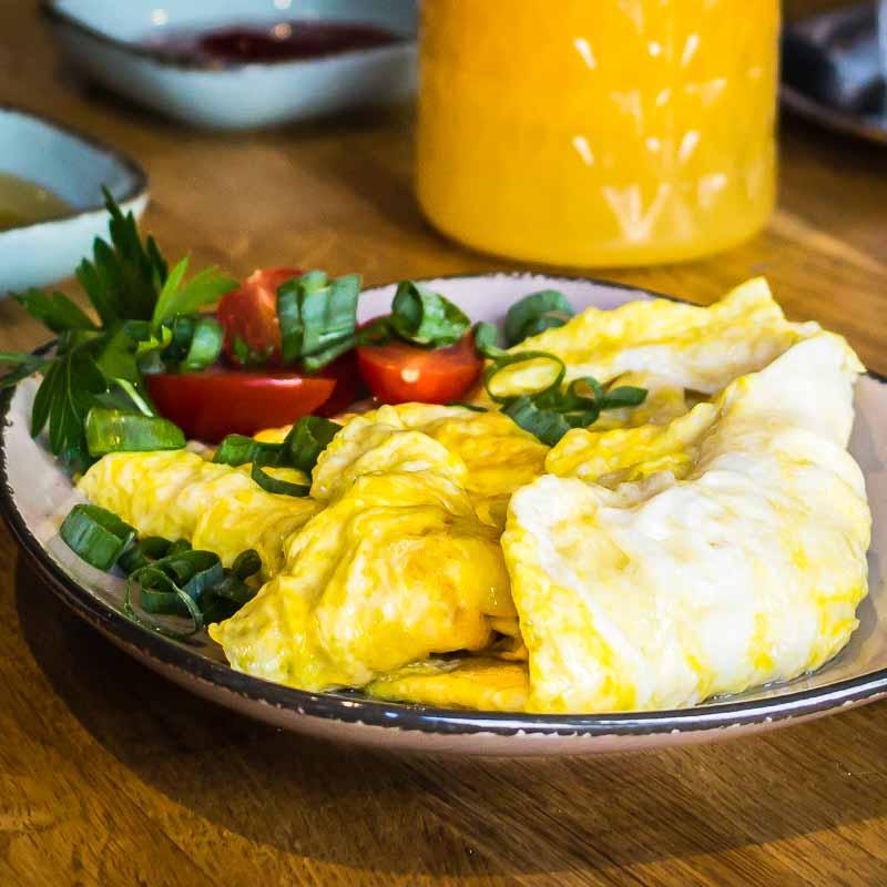 Bio-Rührei Frühstück